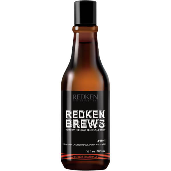 REDKEN BREWS MEN'S 3 U 1 ŠAMPON 300ML